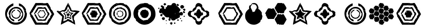 Dingbatz Formz DSG font