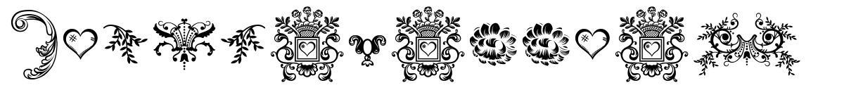 Dingleberries font