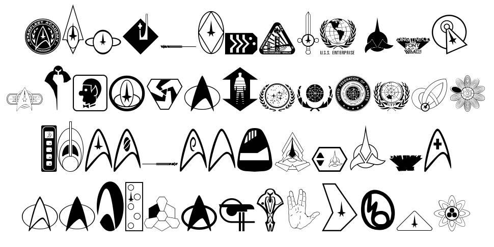 DingTrek II font