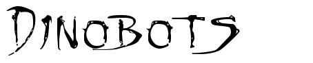 Dinobots font