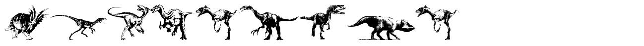 Dinosaurs font