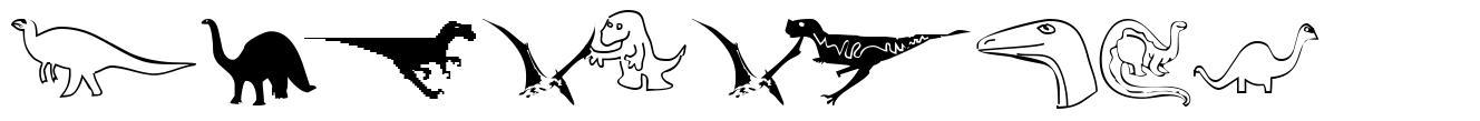 DinosoType font