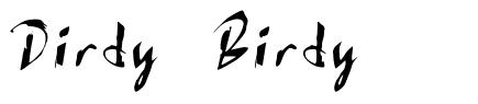 Dirdy Birdy schriftart