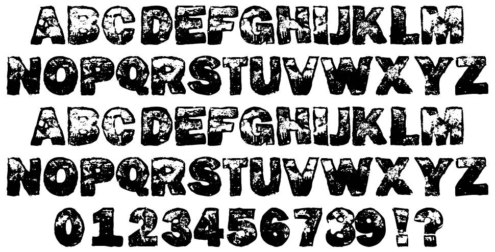 Dirty Fox font