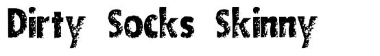 Dirty Socks Skinny font