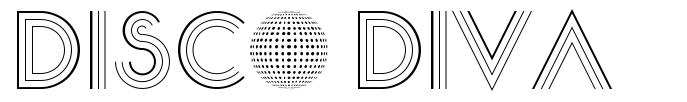 Disco Diva font