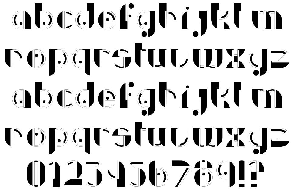 Discoverie font