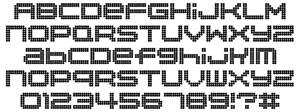 Disorient font