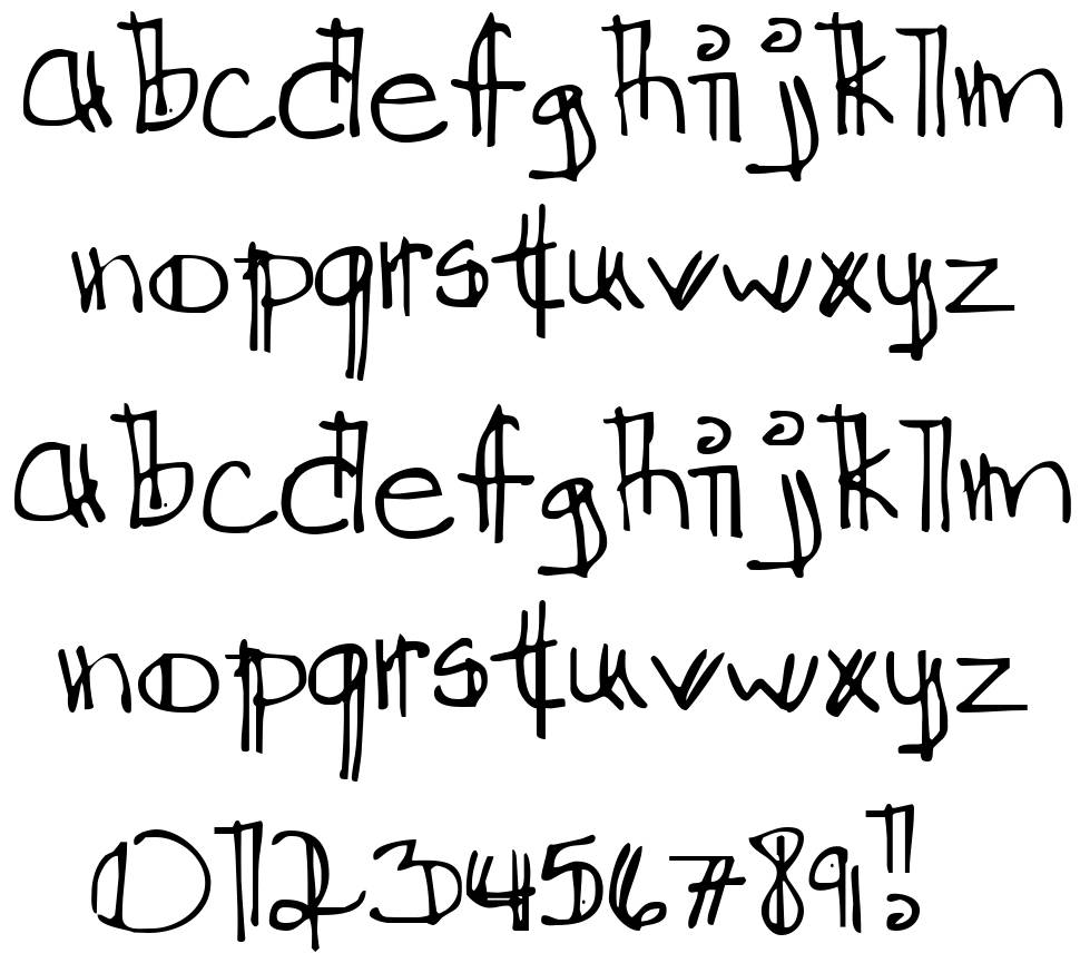 Ditch The Logical font