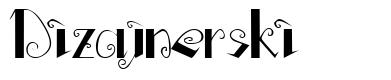 Dizajnerski font