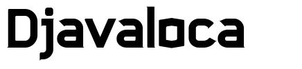 Djavaloca font