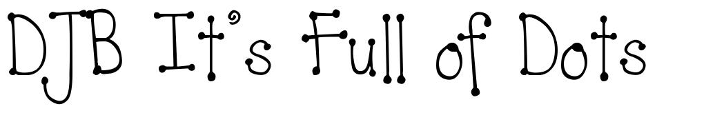 DJB It's Full of Dots