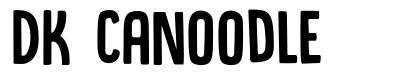 DK Canoodle font