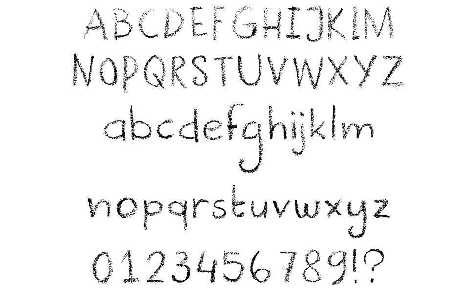 All About Dk Cool Crayon Font By David Kerkhoff Fontspace Www