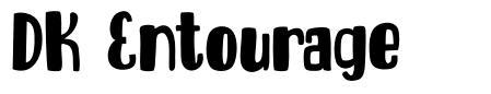 DK Entourage шрифт