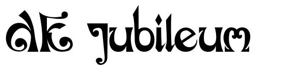 DK Jubileum font