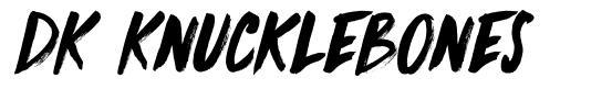 DK Knucklebones fonte