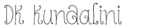 DK Kundalini font