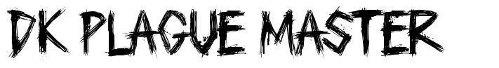 DK Plague Master font