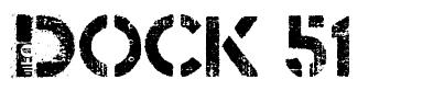 Dock 51 písmo