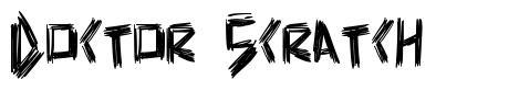 Doctor Scratch font
