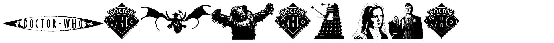 Doctor Who 2006 font