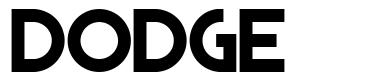 Dodge font