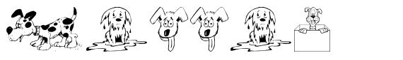 Doggon шрифт