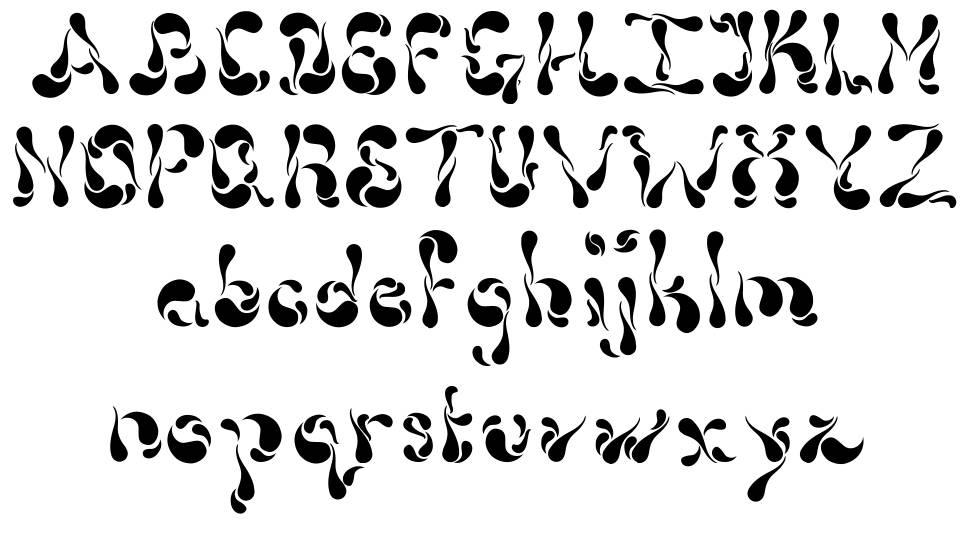 Dollop font