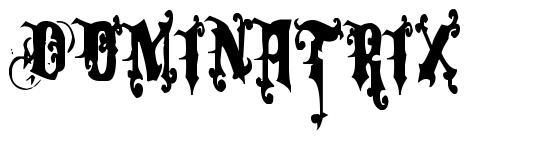Dominatrix font