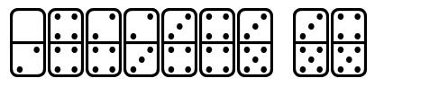 Dominos ST font
