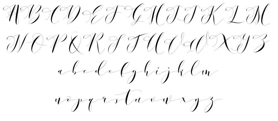 Donita Handscript fuente
