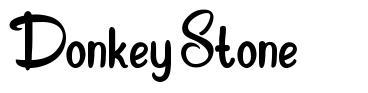 Donkey Stone font