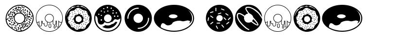 Donuts Icons font