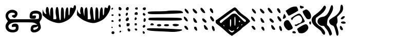 Doodlizing font