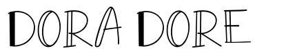 Dora Dore font