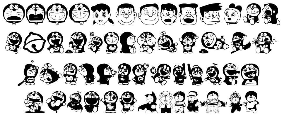 Doraemon font