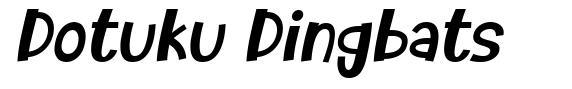 Dotuku Dingbats font