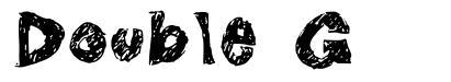 Double G font