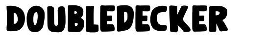 Doubledecker font