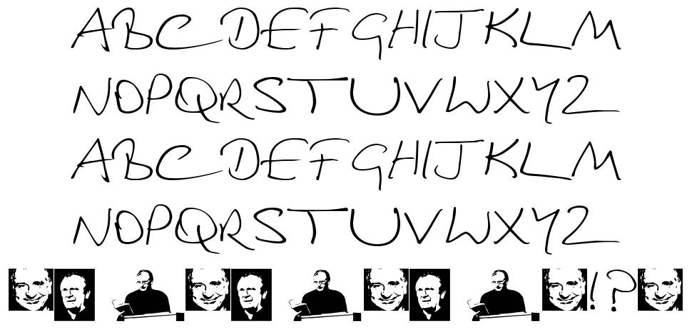 Douglas Adams Hand フォント