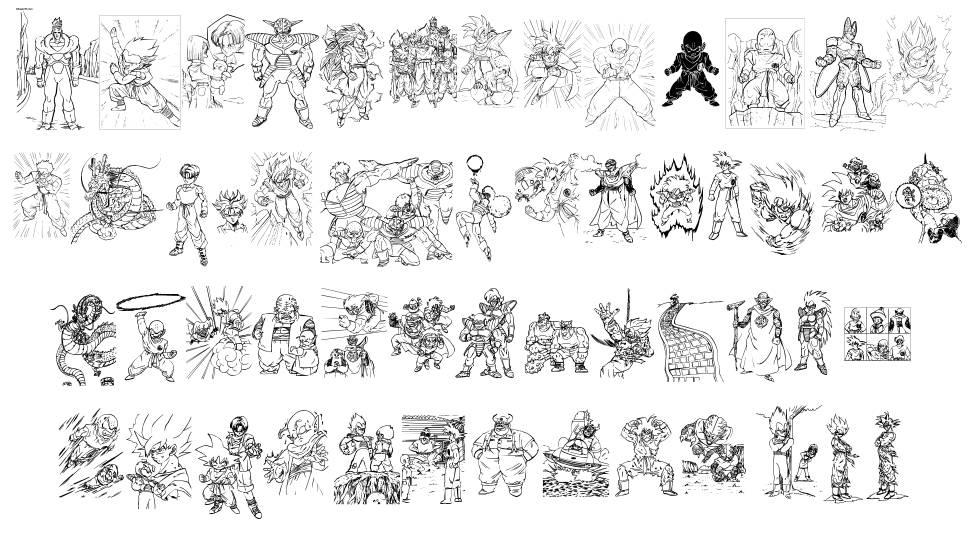 Dragon Ball TFB font
