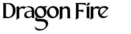 Dragon Fire font