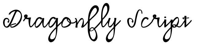 Dragonfly Script font