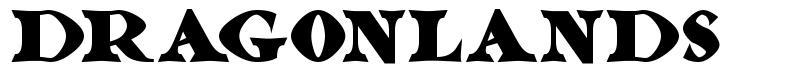 Dragonlands フォント