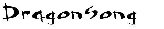 Dragonsong font