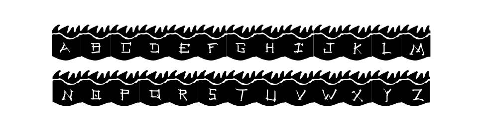 Dragoon font