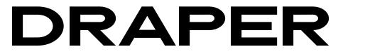 Draper шрифт