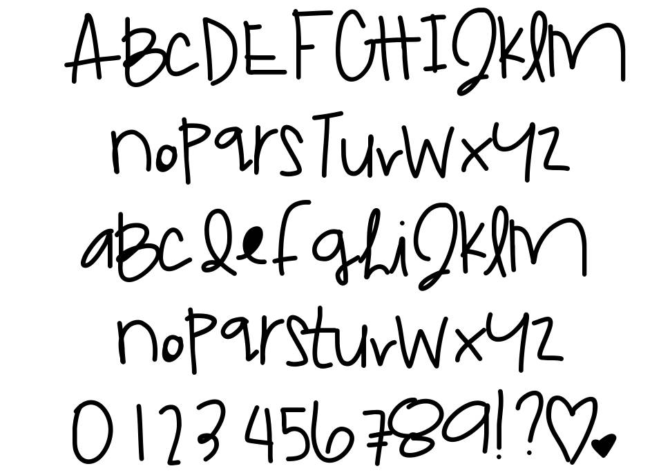 Dream Catcher font