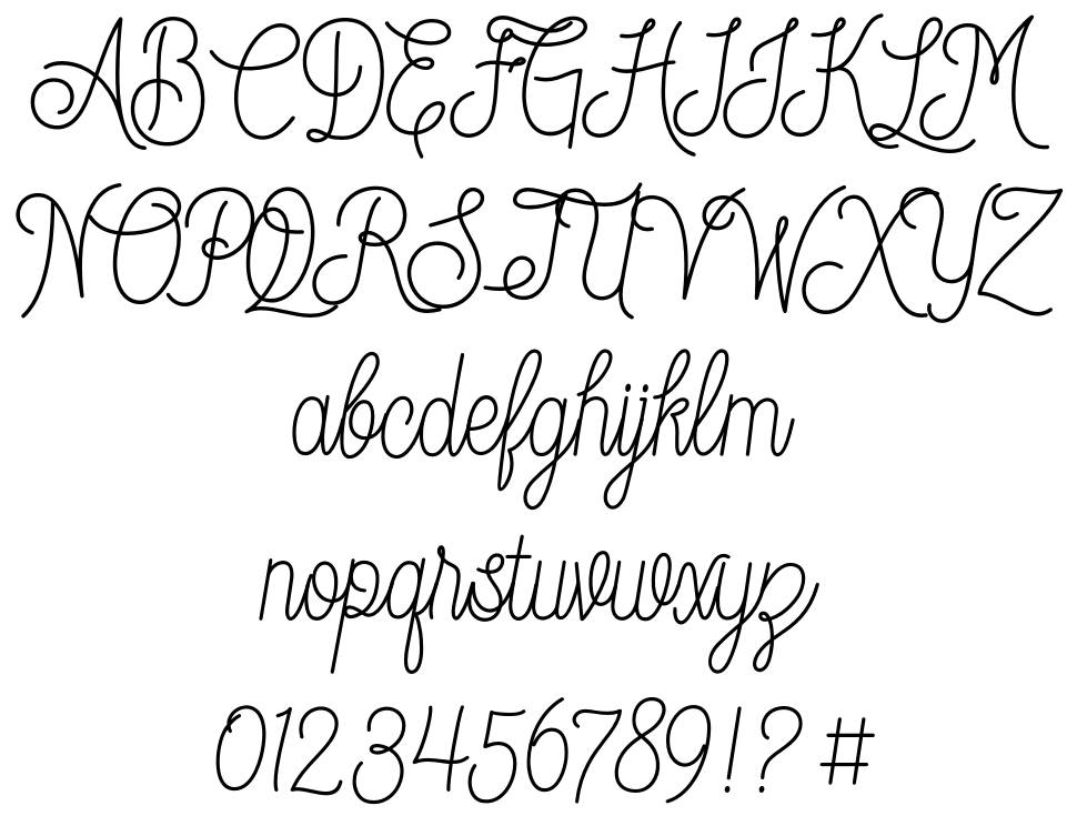 Dream Catchers font